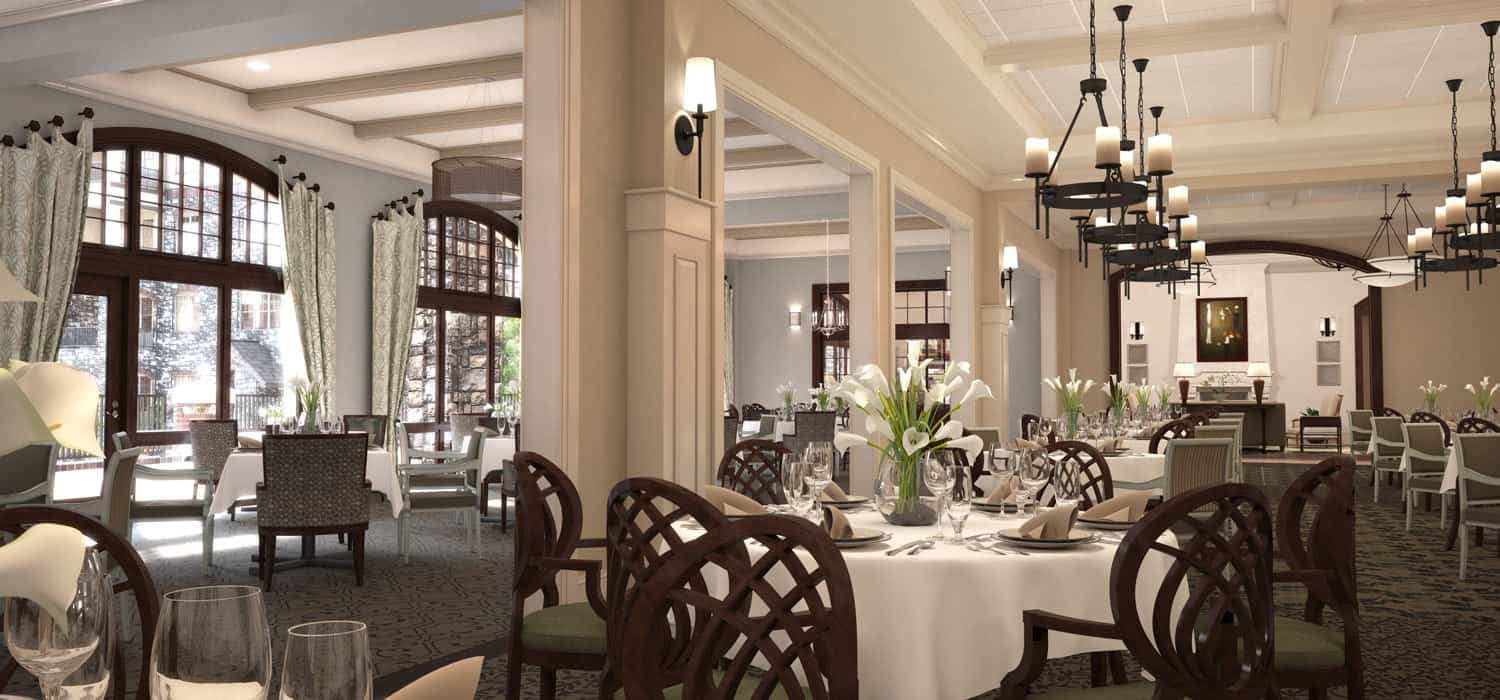 peachtree hills place main dining room
