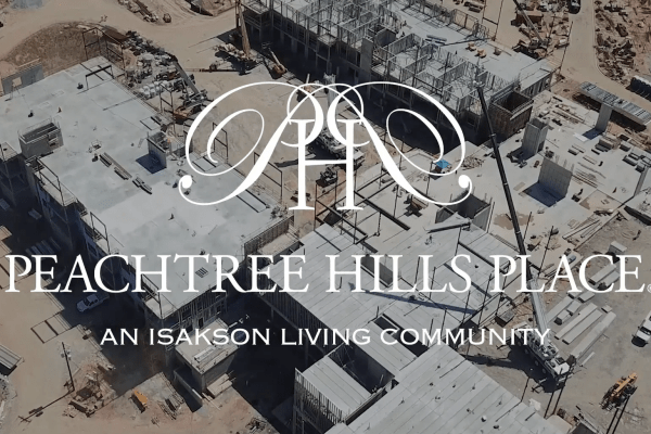 Peachtree Hills Place Construction Update September 2018