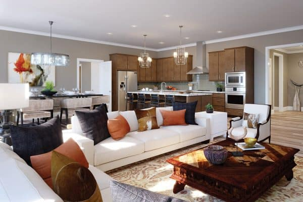 Open and Inviting Floorplans