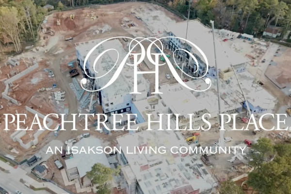 Peachtree Hills Place Construction Update November 2018